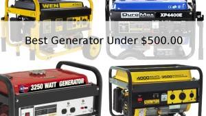 Best Portable Generator Under $500.00