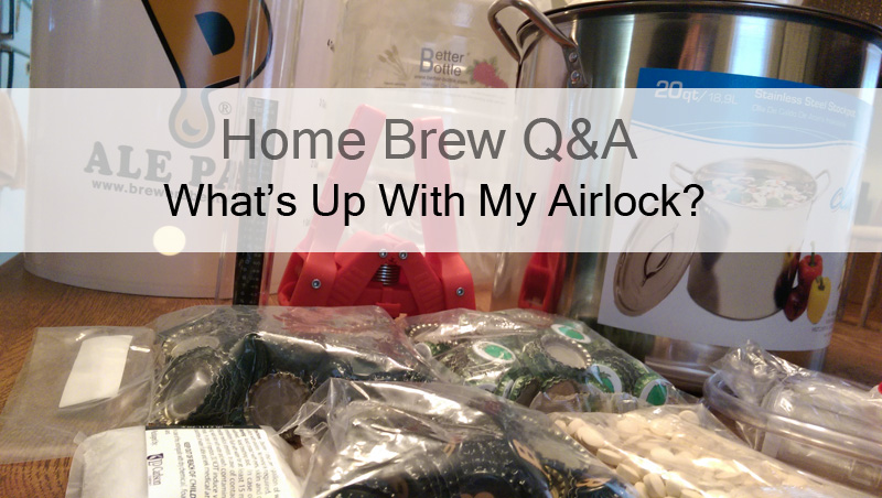 What does the airlock mean, if anything to fermentation.